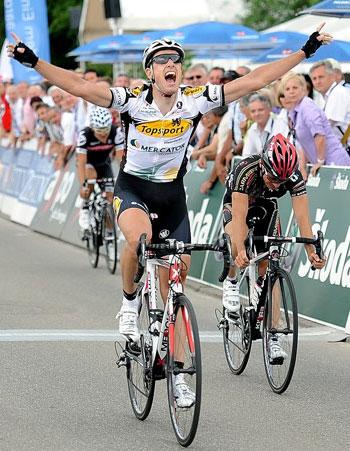 Kristoff Vandewalle wint in Gippingen