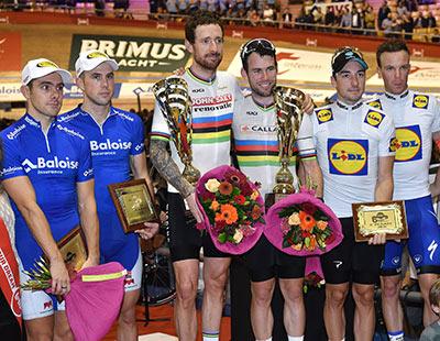 Cavendish en Wiggins winnen 6daagse Gent
