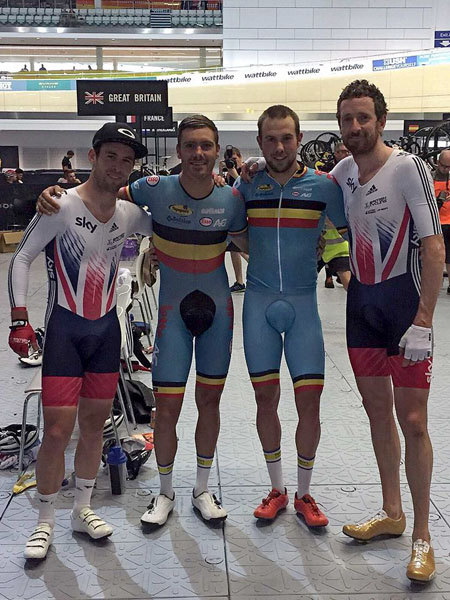 Cavendish, De Ketele, De Pauw, Wiggins