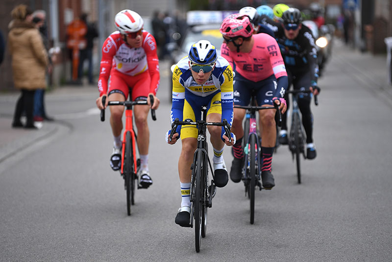Fabio Van den Bossche in de lange vlucht