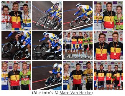 Belgische kampioenschappen baanwielrennen 2019 2020