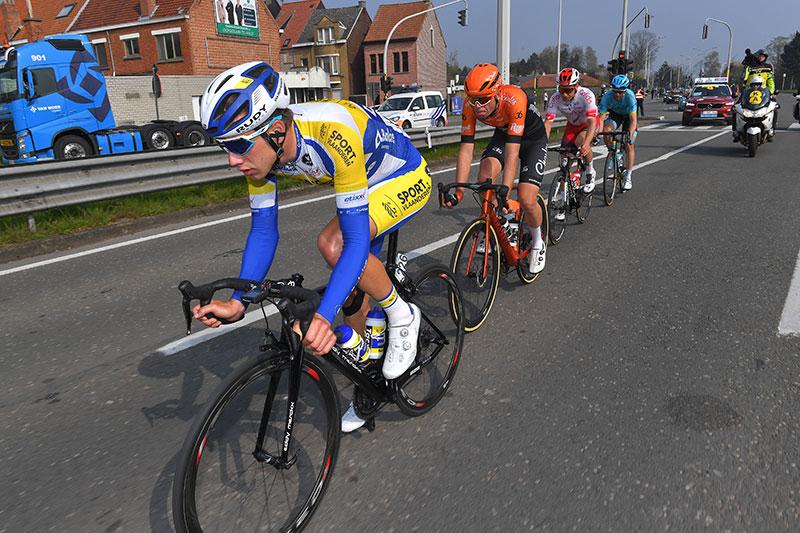 Kenneth Van Rooy in de vroege vlucht van de Ronde van Vlaanderen 2019